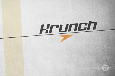 krunch free font - amazing block font