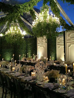 evening outdoor decor