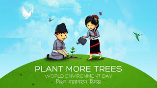 Image result for world environment day nepal 2076