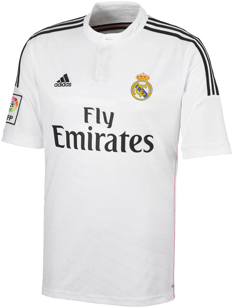 23a8d8c4e Real Madrid 2014-2015 Home Kit. real madrid shirt