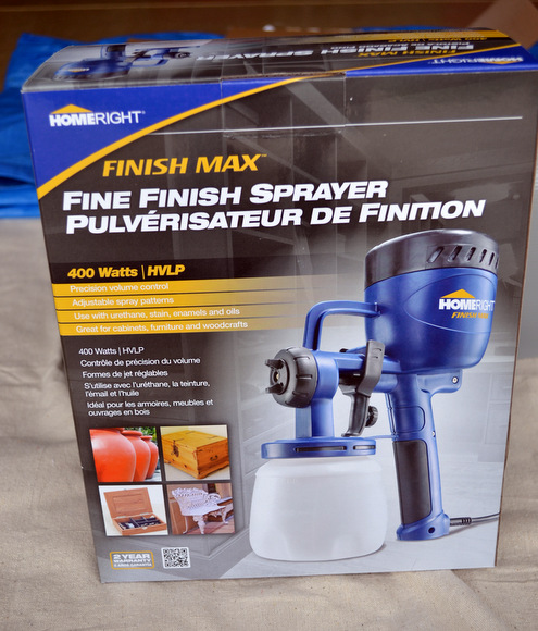 This airless paint sprayer is a perfect project tool - so easy to use!