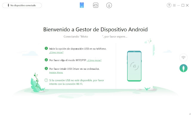 AnyTrans for Android Imagenes