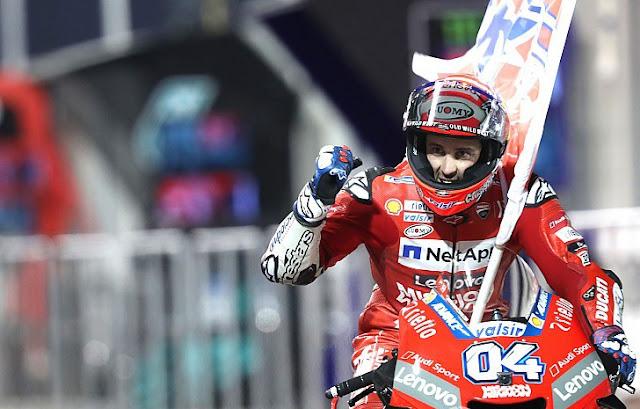 Andrea Dovizioso Berada Di Puncak Klasemen Sementara MotoGP 2019