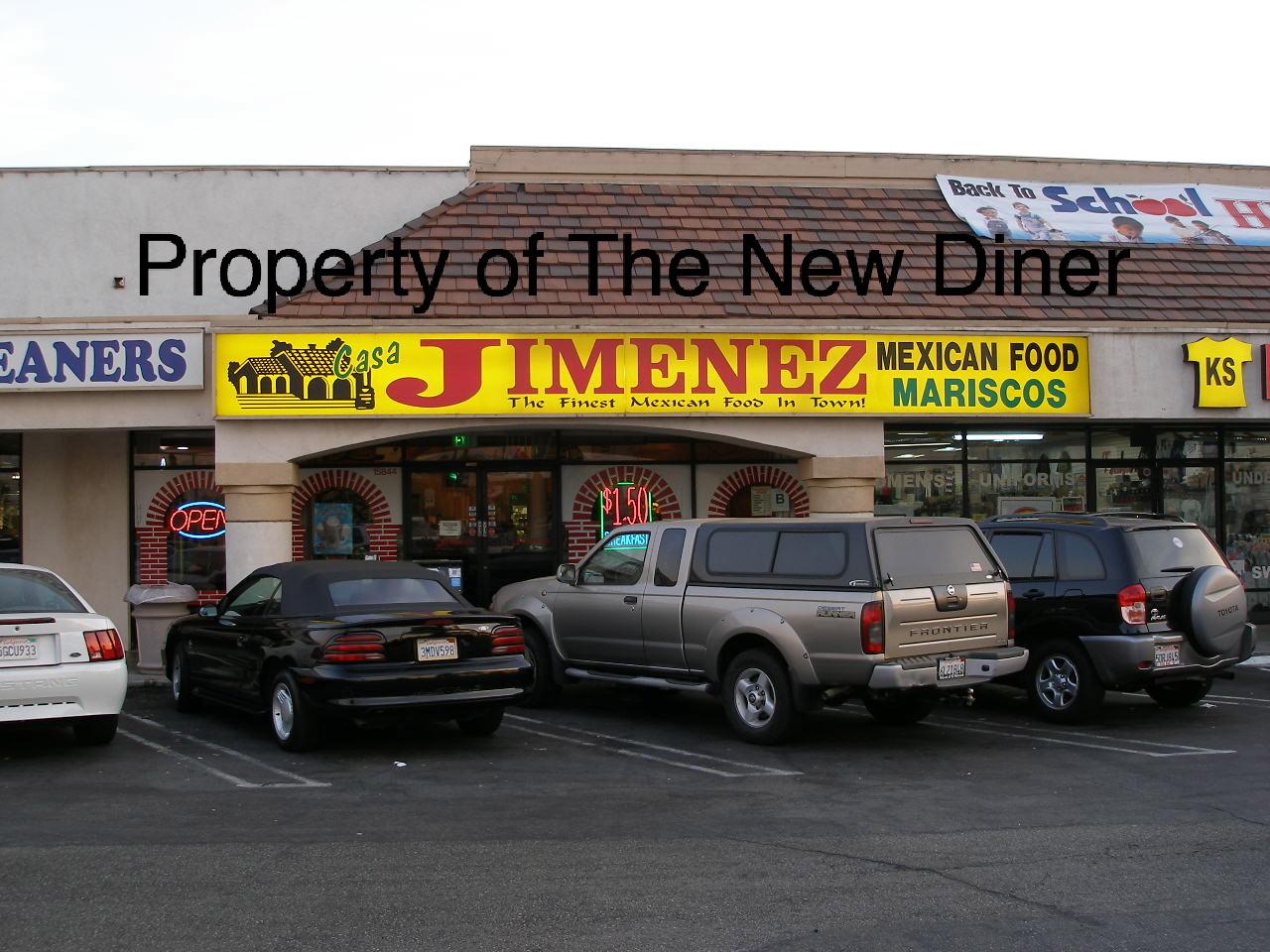 The New Diner: Casa Jimenez