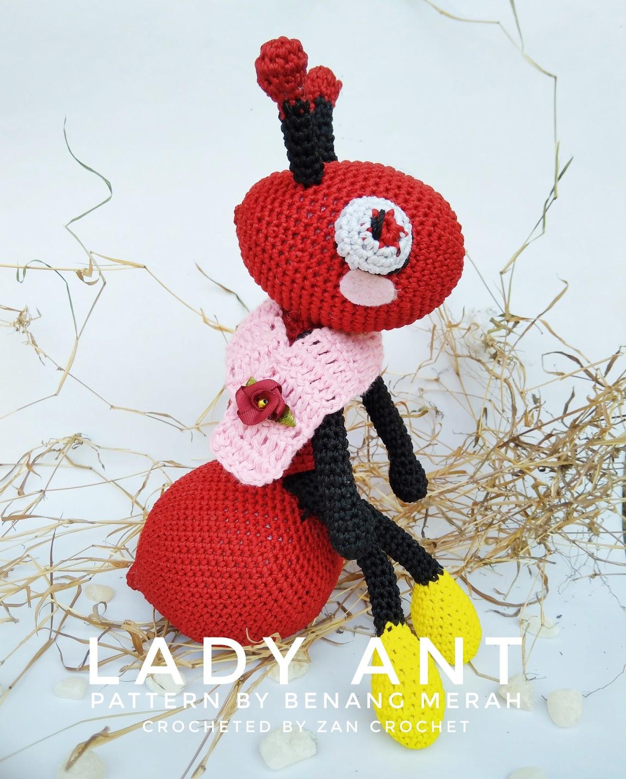 Lady Ant ~ Zan Crochet