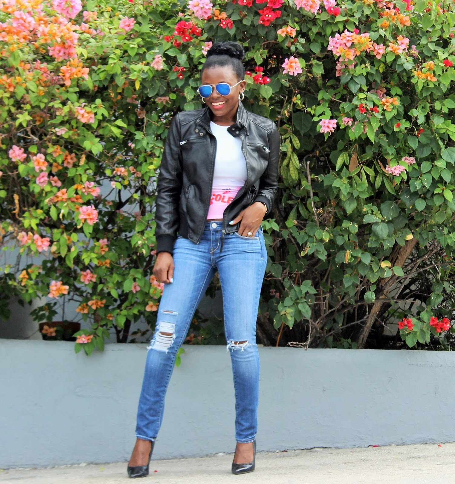 DIY: Distressed Girlfriend Jeans