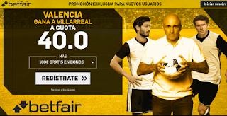 betfair supercuota Valencia gana a Villareal 5 mayo