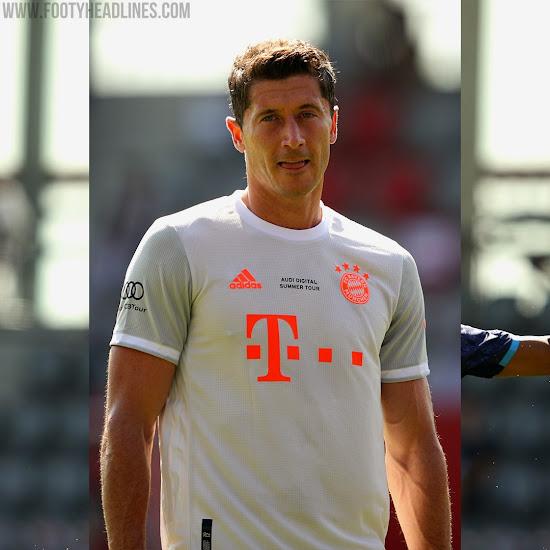 Bayern Munchen Debuts Adidas 20 21 Away Kit Even More Striking Than Infrared 2012 13 Away Kit Footy Headlines