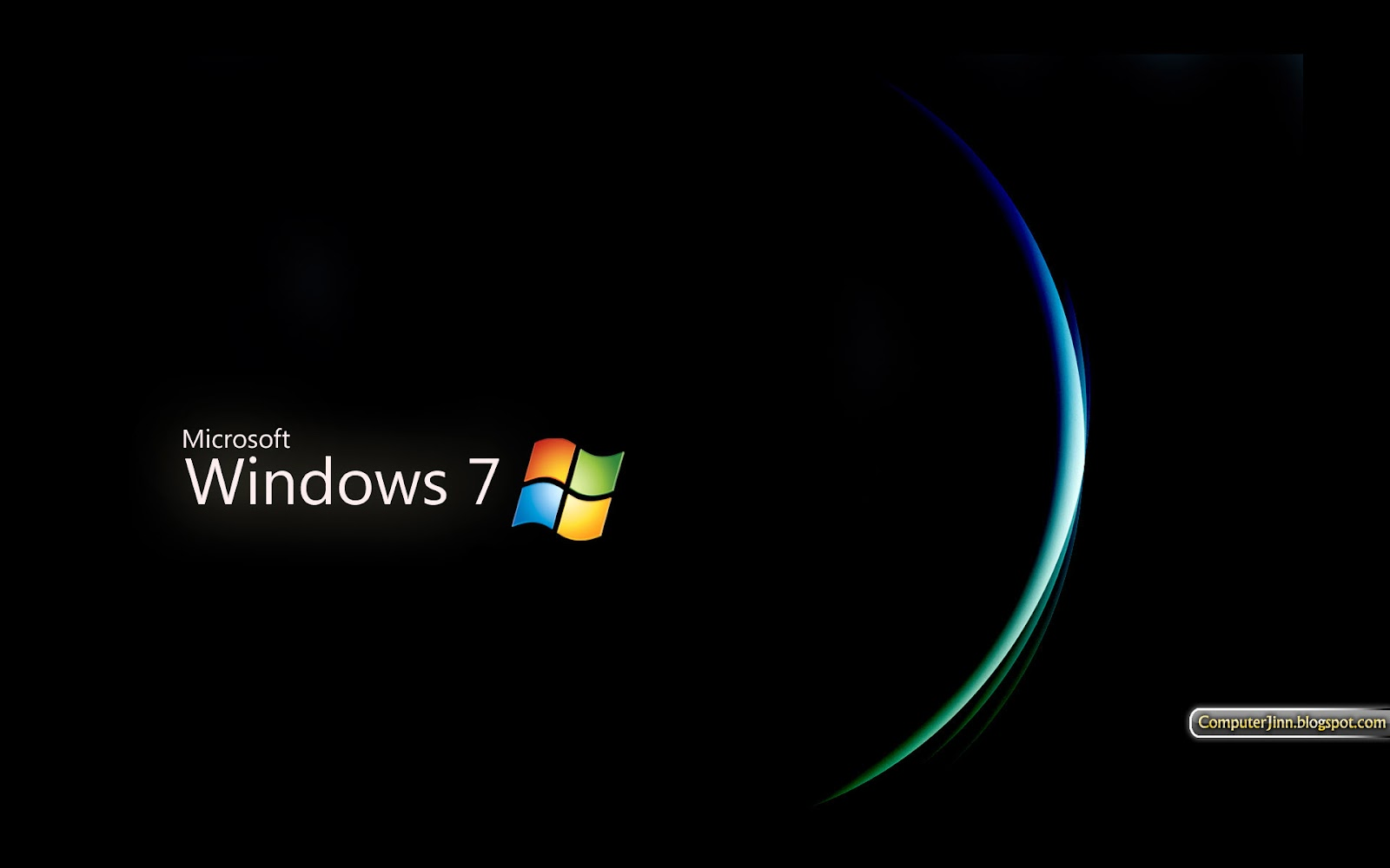 Windows 7 Black And Dark Hd Wallpapers Wallpapers