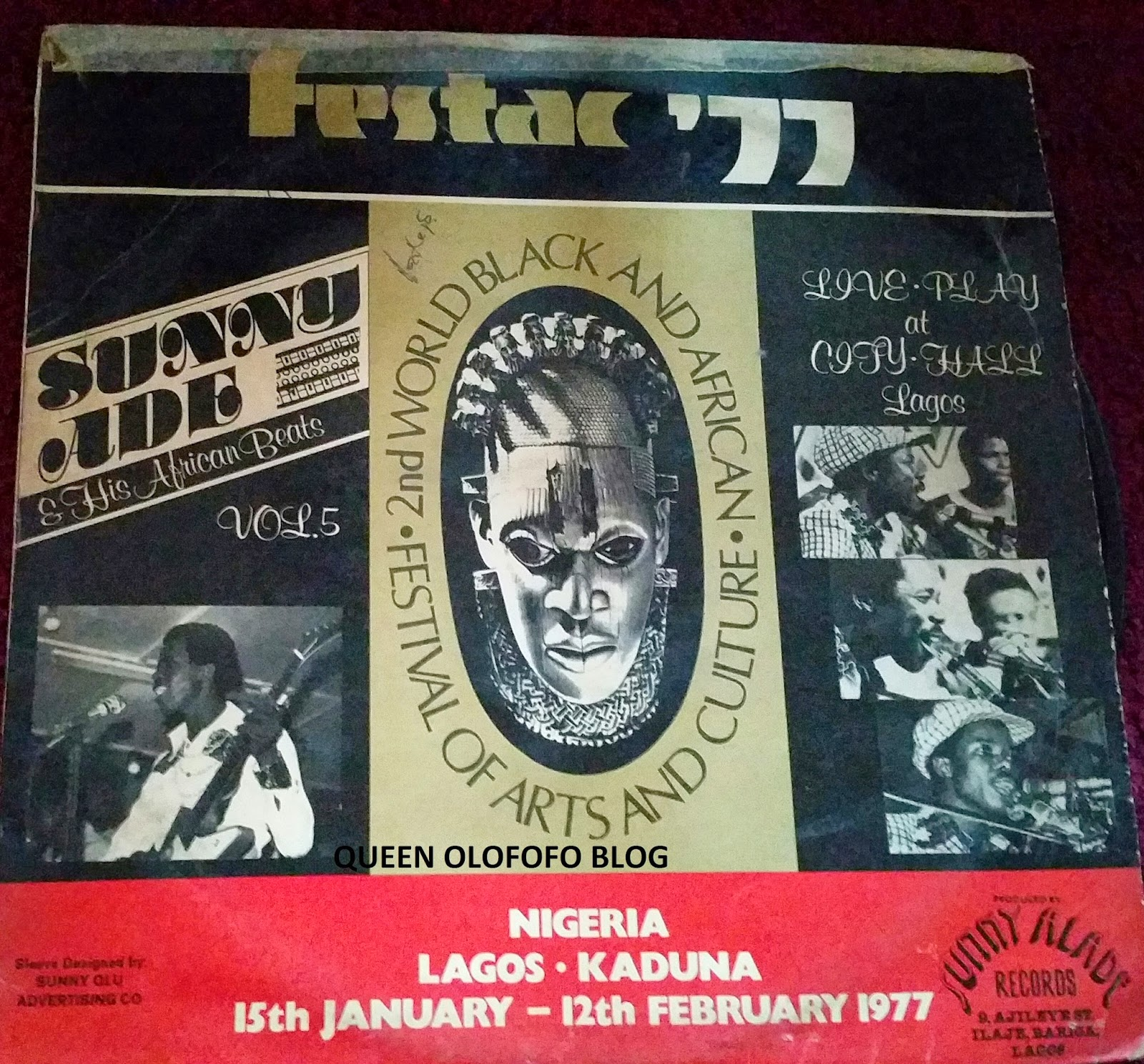 sunny ade with his festac 77 classic