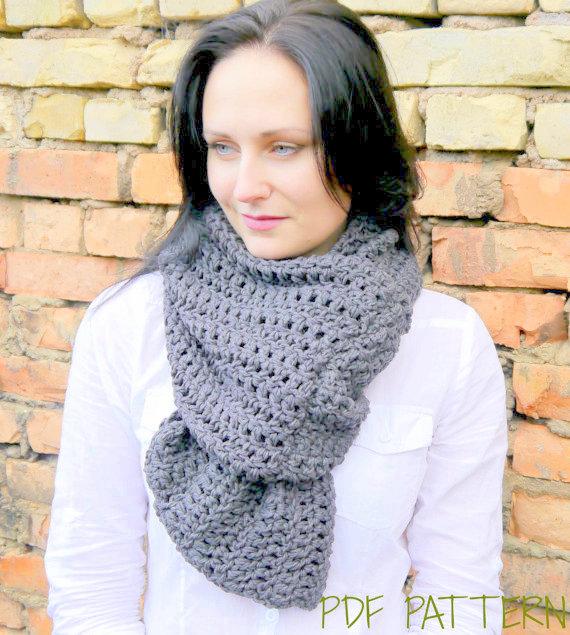 wide scarf crochet pattern