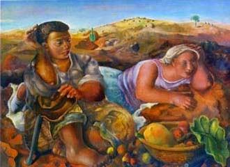 Ciganos - Di Cavalcante e suas principais pinturas ~ Pintando a realidade brasileira