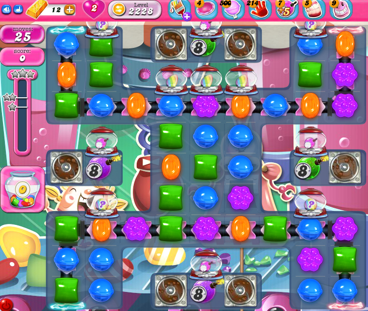Candy Crush Saga level 2228