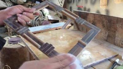 Terbaru! Cara Membuat Kerajinan Pigura dari Bambu Yang Mudah