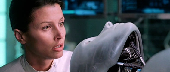 Dr. Calvin no filme Eu, Robô