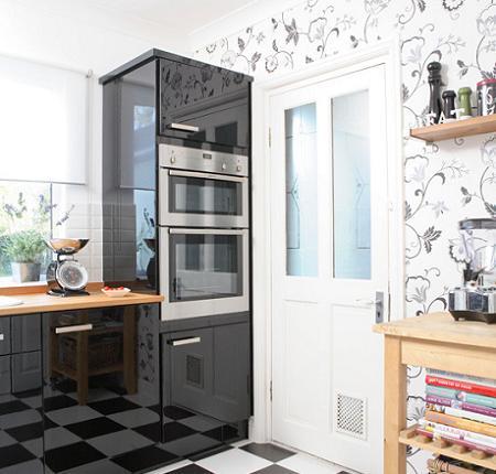 Wallpaper Elegant Di Dalam Dapur