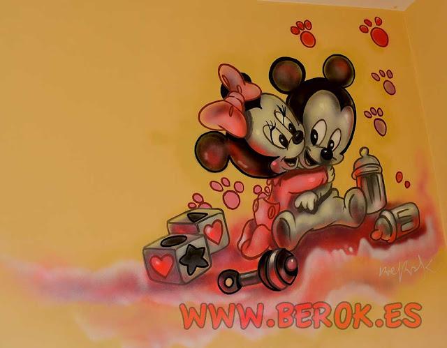 murales infantiles personalizados para niña