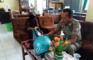 Pencurian Helm Dilingkungan Pemkab Bojonegoro Berakhir Damai