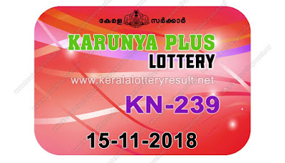 KeralaLotteryResult.net, kerala lottery kl result, yesterday lottery results, lotteries results, keralalotteries, kerala lottery, keralalotteryresult, kerala lottery result, kerala lottery result live, kerala lottery today, kerala lottery result today, kerala lottery results today, today kerala lottery result, karunya plus lottery results, kerala lottery result today karunya plus, karunya plus lottery result, kerala lottery result karunya plus today, kerala lottery karunya plus today result, karunya plus kerala lottery result, live karunya plus lottery KN-239, kerala lottery result 15.11.2018 karunya plus KN 239 15 november 2018 result, 15 11 2018, kerala lottery result 15-11-2018, karunya plus lottery KN 239 results 15-11-2018, 15/11/2018 kerala lottery today result karunya plus, 15/11/2018 karunya plus lottery KN-239, karunya plus 15.11.2018, 15.11.2018 lottery results, kerala lottery result October 15 2018, kerala lottery results 15th November 2018, 15.11.2018 week KN-239 lottery result, 15.11.2018 karunya plus KN-239 Lottery Result, 15-11-2018 kerala lottery results, 15-11-2018 kerala state lottery result, 15-11-2018 KN-239, Kerala karunya plus Lottery Result 15/11/2018