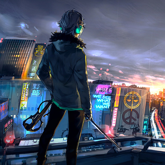 Cyberpunk Cityscape Wallpaper Engine
