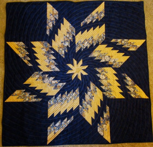 Twirling Swirling Dance - Free Quilt Pattern