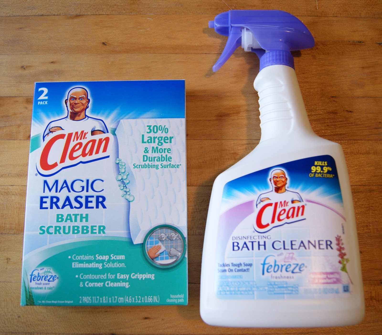 Ordinaire Sister Sister Sunday: Mr. Clean Giveaway!