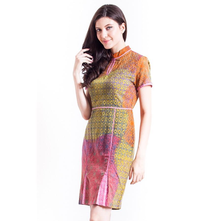 Model Baju Batik Modern Dress: Inspirasi Model Dress Batik Terbaru