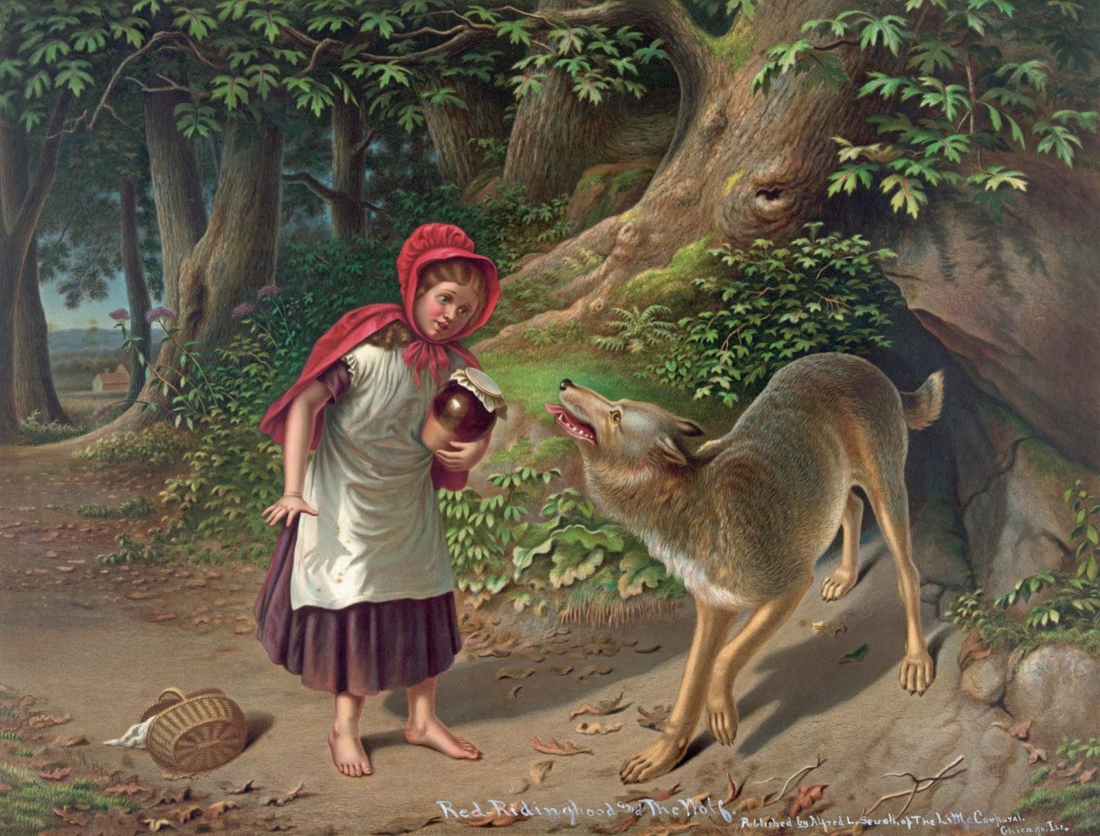 Amado Chapeuzinho Vermelho, Lobo Mau e a Vovó. PQ14