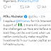 Ex VP, Atiku Abubakar Reacts To Bill Gates' Statement Against Buhari's Economic Plan