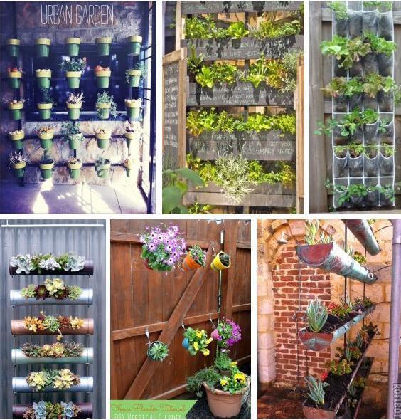 Urban Garden Design: RECYCLE & SAVE WORLD: Small Urban Garden Design Idea