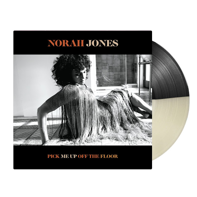 The Record Store presents Norah Jones and the vinyl and music video offerings for her album titled Pick Me Up Off The Floor. #BlackWhiteVinyl #RecordStore #NorahJones