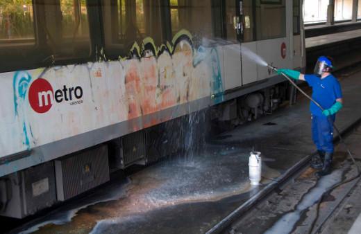 FGV se suma a los operadores ferroviarios para reclamar mayor protección ante los grafiteros