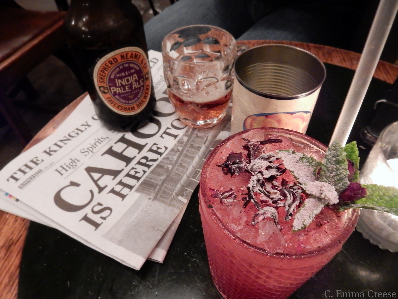 Cahoots, an Underground London Cocktail bar