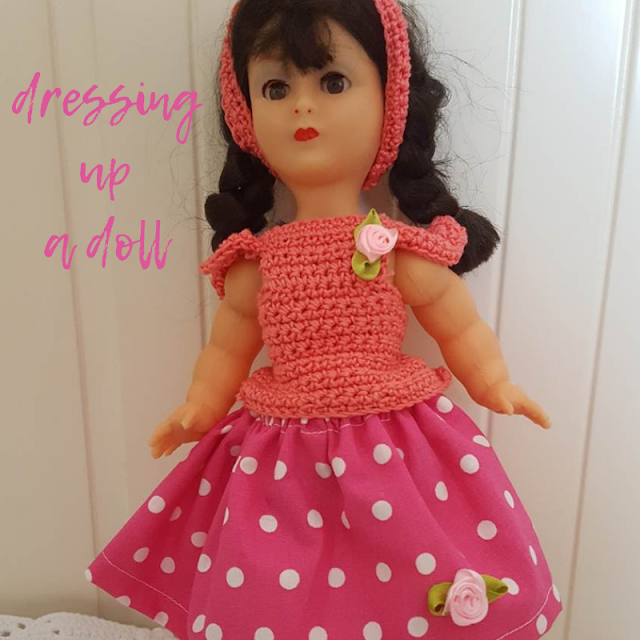 Dressing up a doll