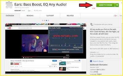 cara meningkatkan kualitas audio/ suara tanpa software pada browser dengan menggunakan add on equalizer pada browser
