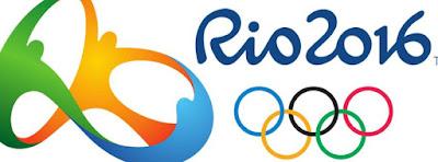 Couverture facebook avec logo Rio 2016