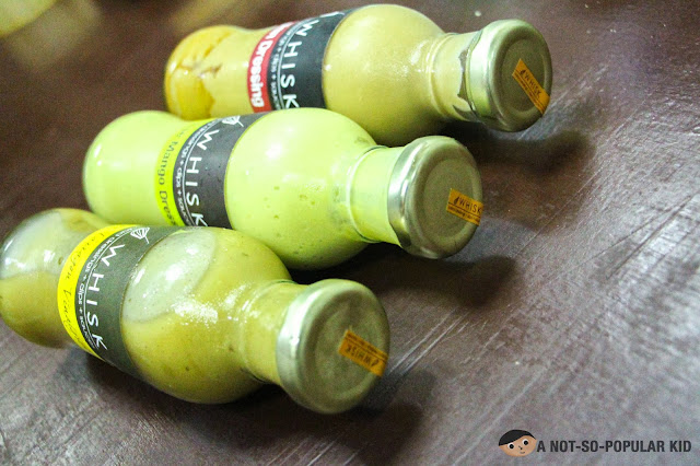 Three Bottles of Whisk salad dressing