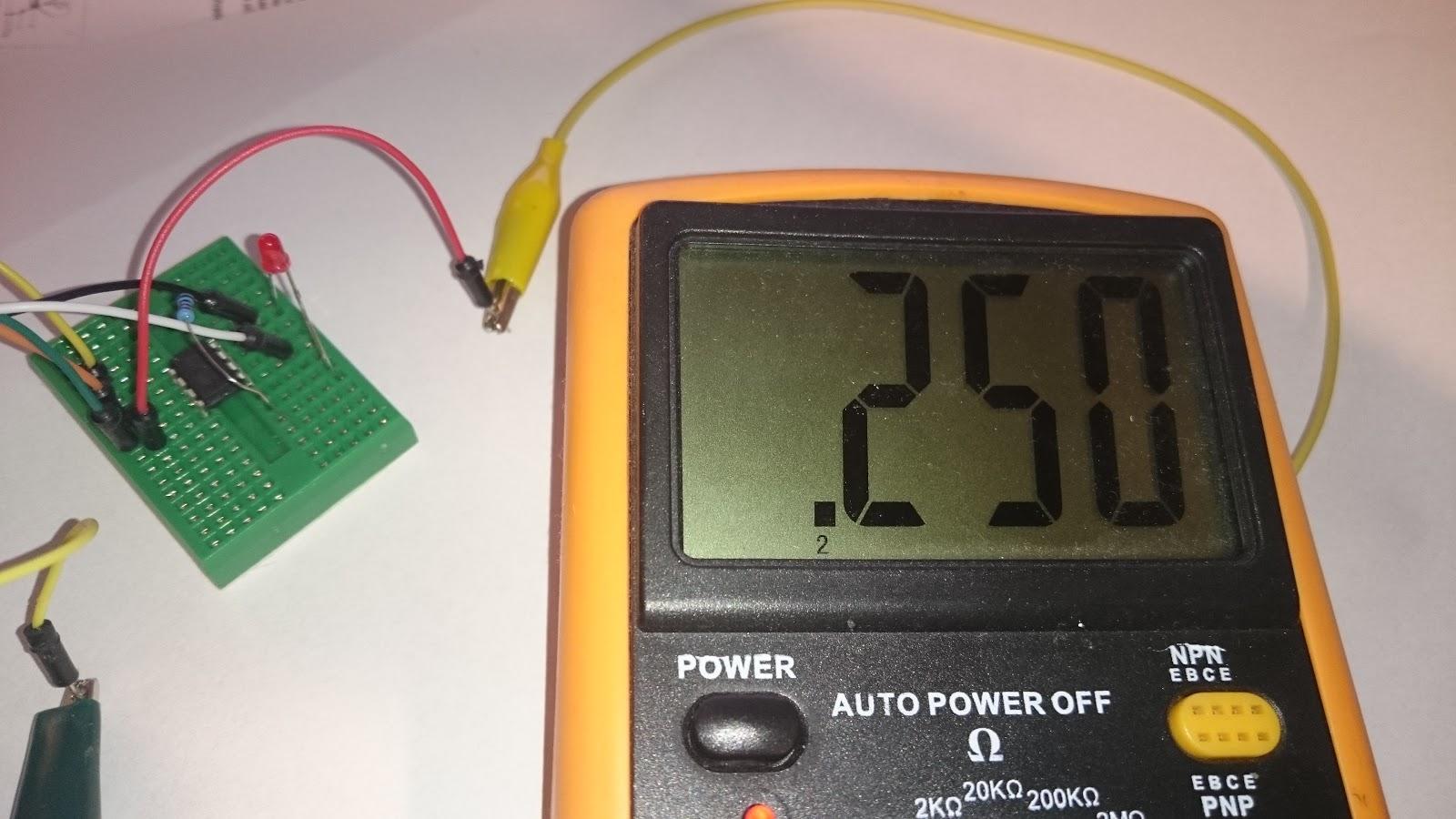 Low power (5microA) ATtiny13A - Home Circuits