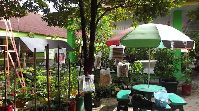 Pohon literasi di SMA Negeri 7 Pekanbaru