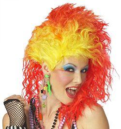 Fiery Cyndi Lauper 80s Wig