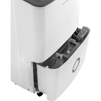 Front-access pull-out water tank with 7.6 pint capacity on Frigidaire FFAD3033R1 dehumidifier