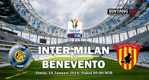 Prediksi Inter Milan vs Benevento 14 Januari 2019