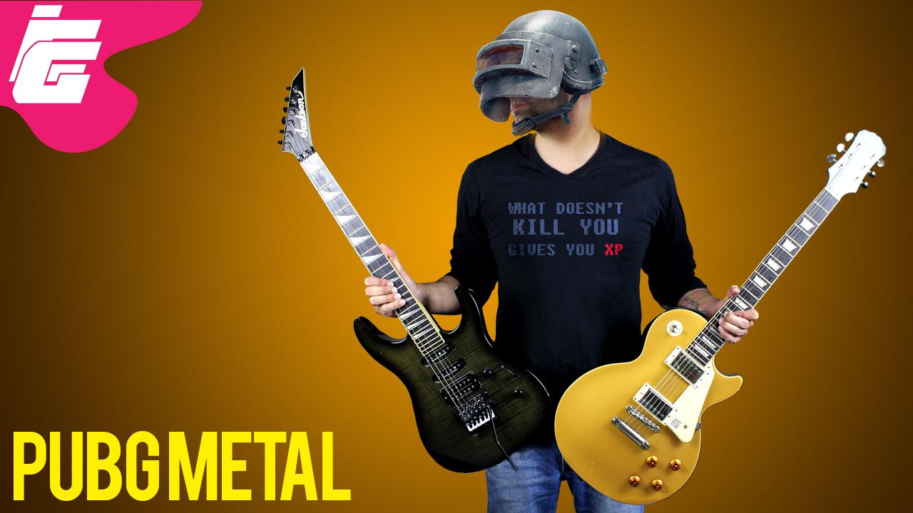 Pubg Theme Song Metal Cover Ieddy Gaming Gameplay Walkthrough