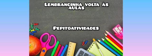 Passo a passo Estojo em formato de lápis - Lembrancinha de volta às aulas