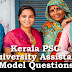 Kerala PSC Model Questions for University Assistant Exam - 98