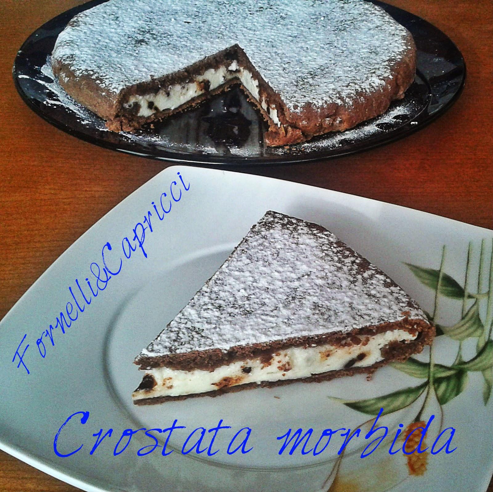 Fornellicapricci Crostata Morbida Al Cacao Con Mascarpone E Ricotta