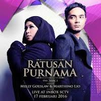 Chord Lagu Melly Goeslaw feat Marthino Lio - Ratusan Purnama