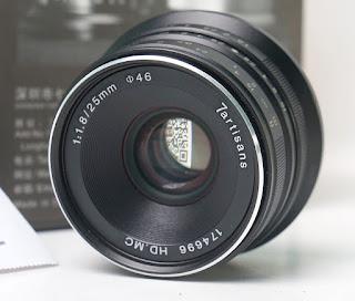 Lensa 7Artisans 25mm f1.8 for Fujifilm 2nd