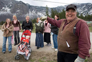 Winston Blackmore, right, the religious leader in the community of Bountiful located near Creston, B.C., was found guilty last July of polygamy. He was married to two dozen women.  (JONATHAN HAYWARD / THE CANADIAN PRESS FILE PHOTO)