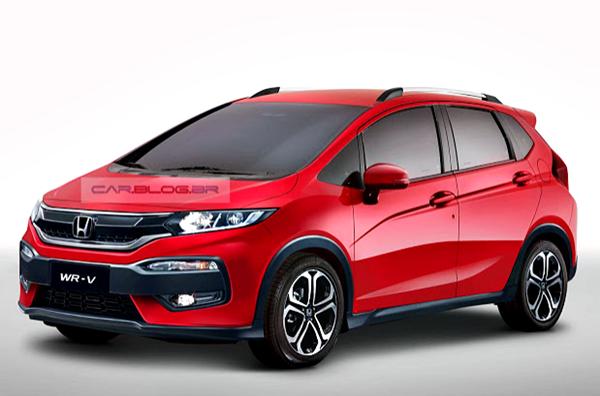 Gambar Honda WR-V Hasil Rendering Para Desainer